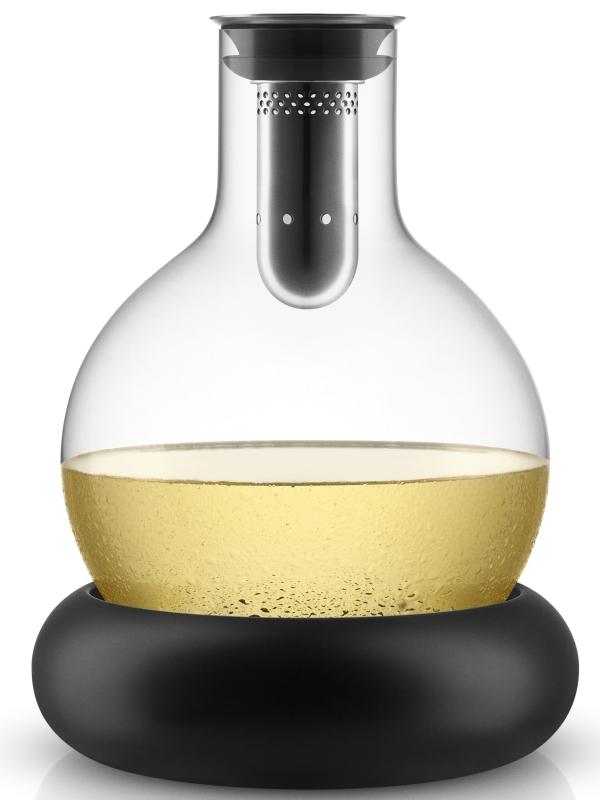 Dekantační karafa na víno s chladícím podstavcem, eva solo