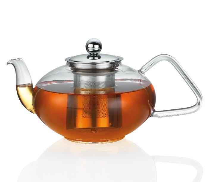 Konvice na čaj TIBET od 0,4 L sklo/nerez - Küchenprofi Objem: 1,5 l