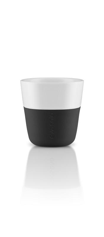 Hrnky na espresso 80ml, set 2ks, černá, Eva Solo