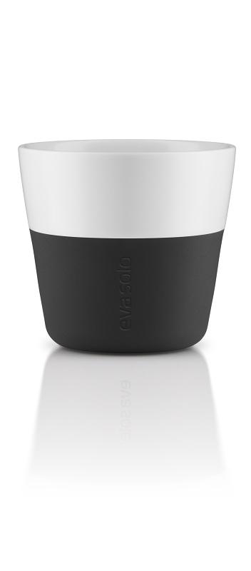 Hrnky na kávu Lungo 230 ml set 2ks černá, Eva Solo
