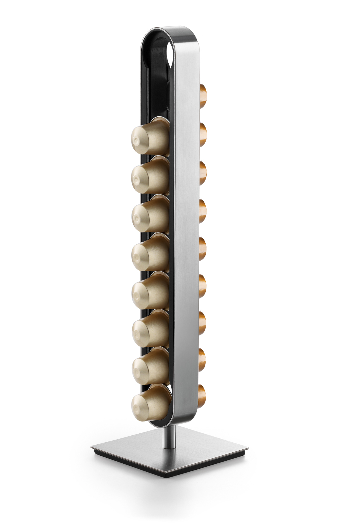 """Zásobník na kapsle """"CURO"""", f. 18 NESPRESSO®, výška 37,5 cm - ZACK"""
