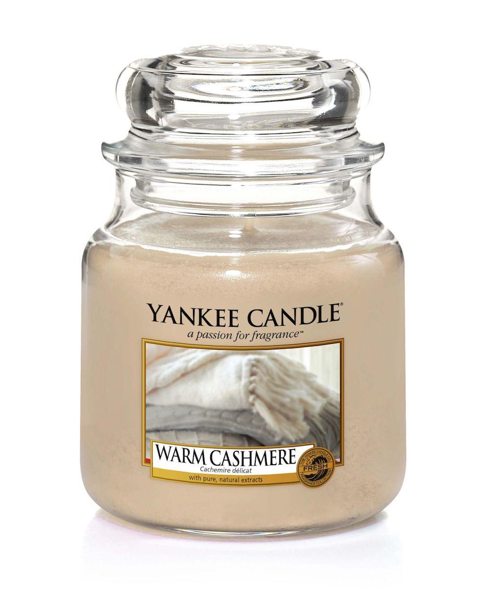 Svíčka Warm Cashmere - Yankee Candle