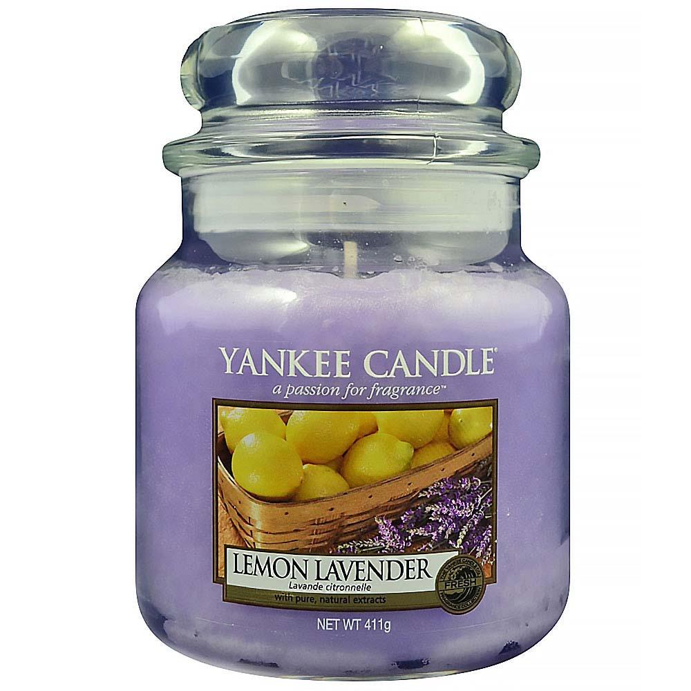 Svíčka Lemon Lavender - Yankee Candle