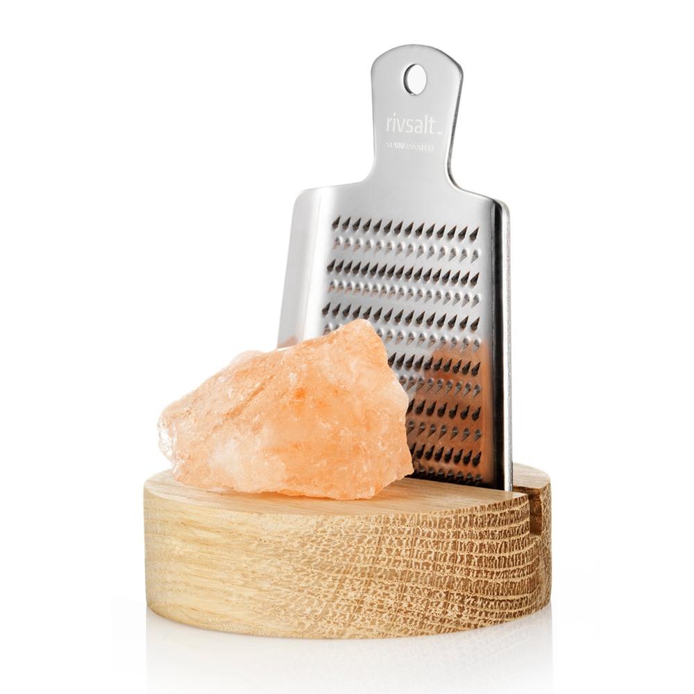 Levně Slánka RIVSALT s krystalem pravé himálajské soli a struhadlem, malá - rivsal