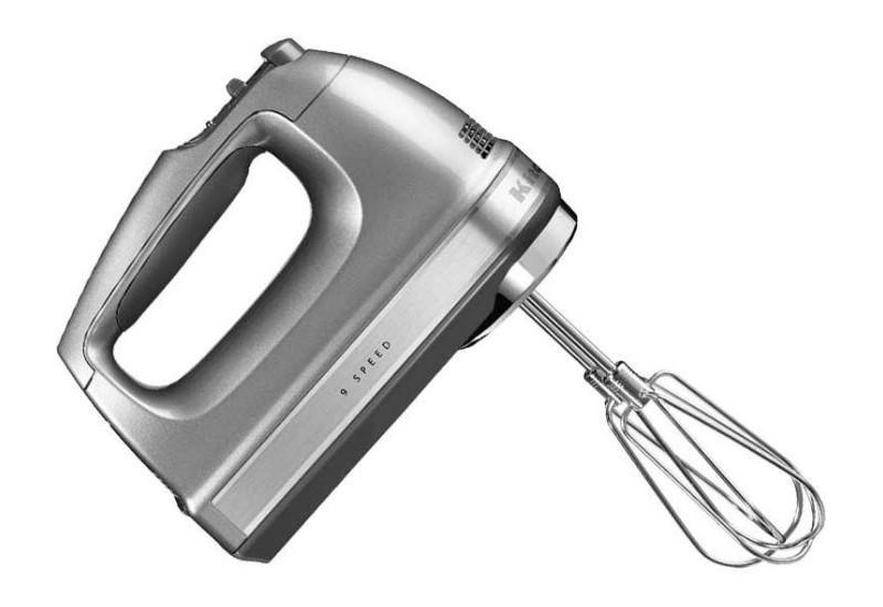 Ruční šlehač stříbrná - Kitchen Aid
