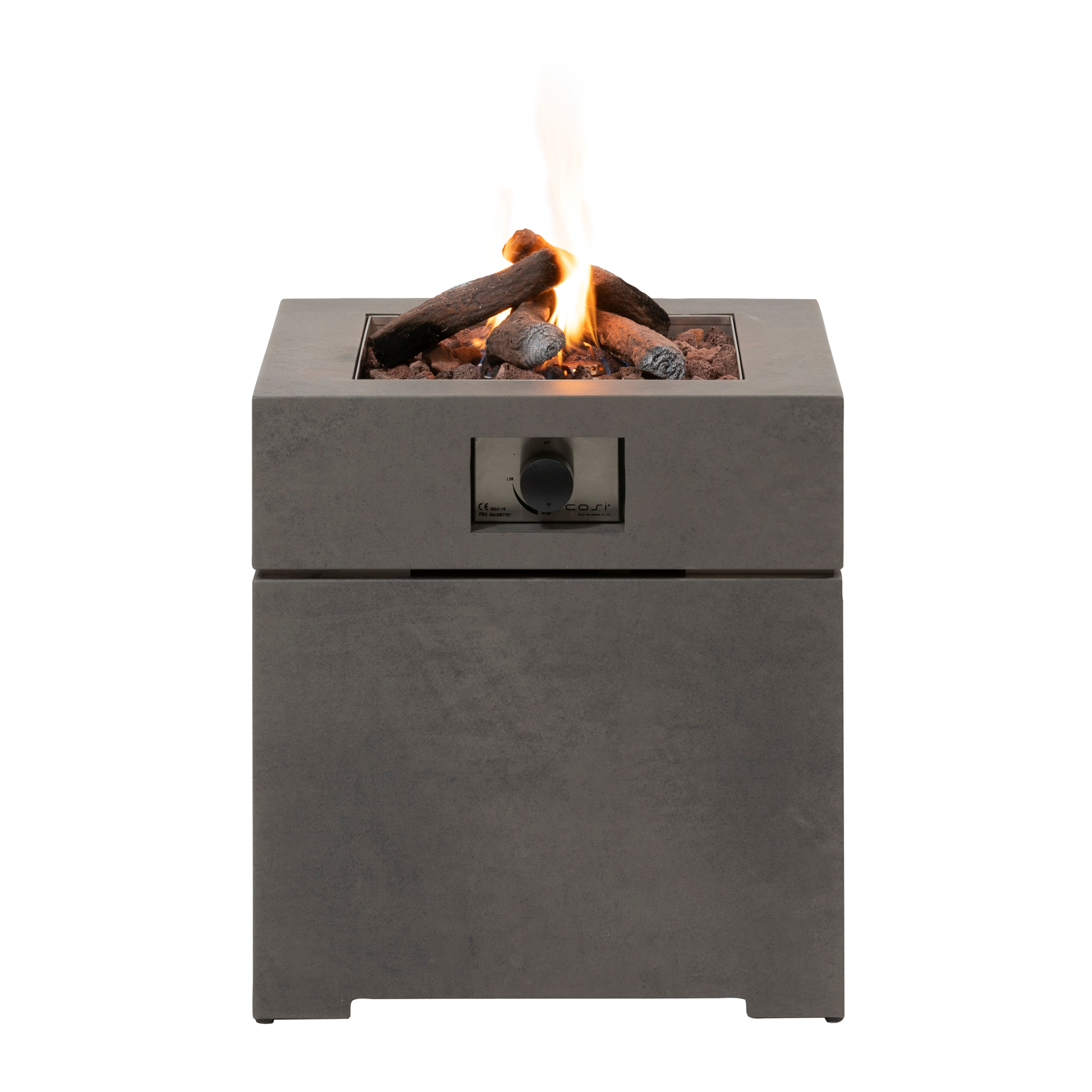 Levně Plynové ohniště COSI- typ Cosibrixx 60 - světle šedá
