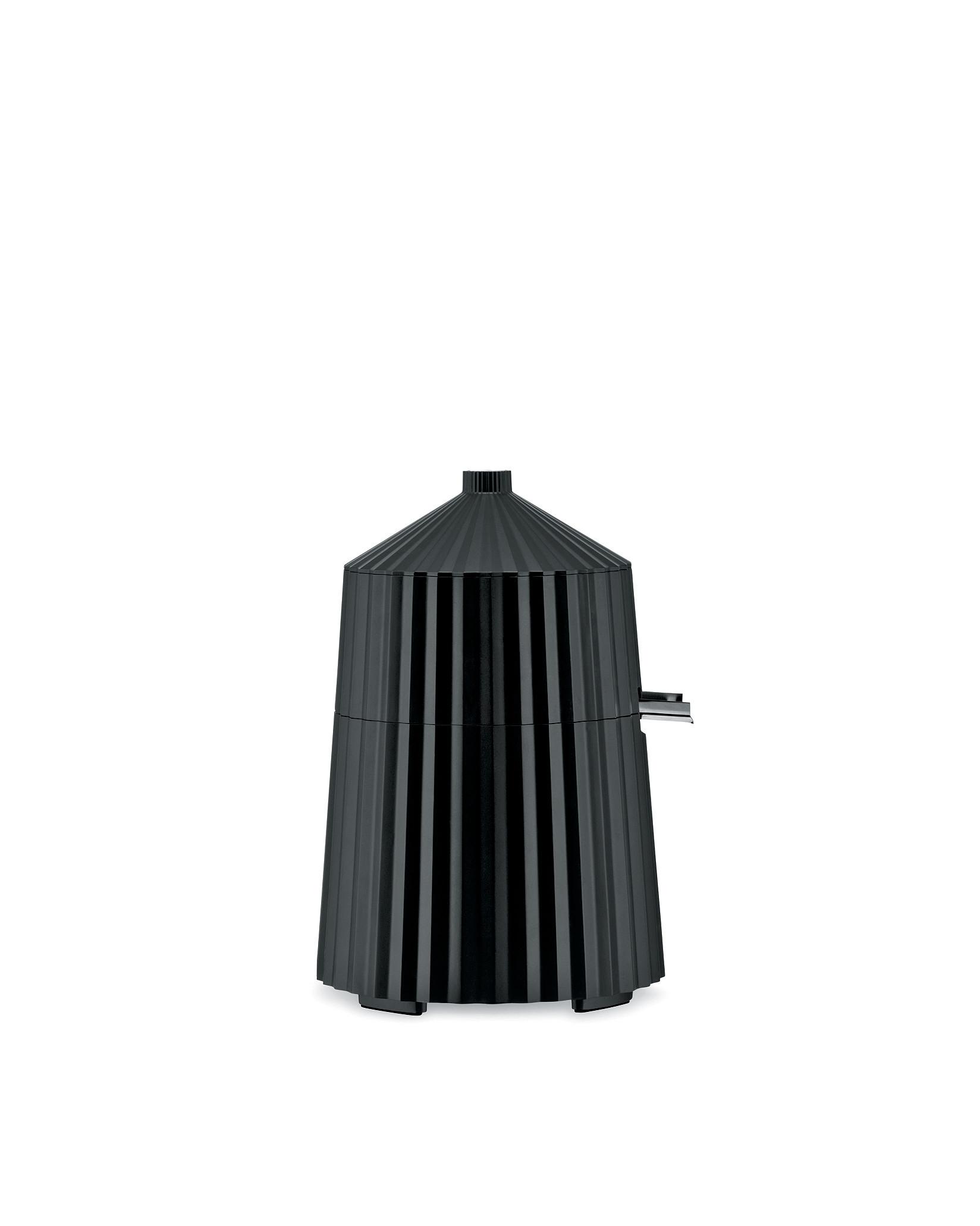 Elektrický odšťavňovač na citrusy Plisse, černý, prům. 18.5 cm - Alessi