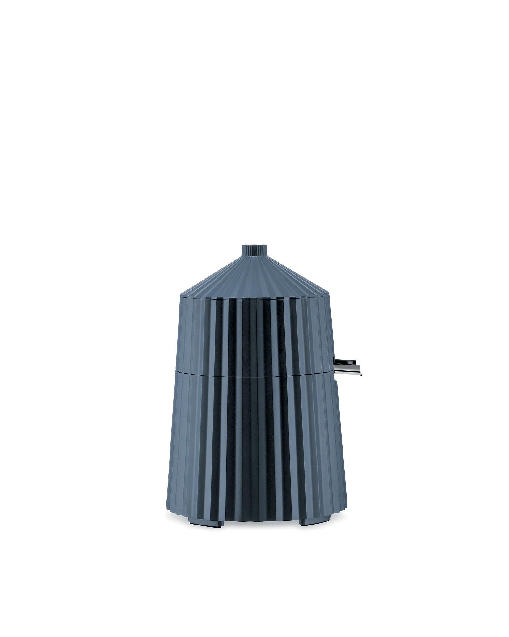 Elektrický odšťavňovač na citrusy Plisse, šedý, prům. 18.5 cm - Alessi