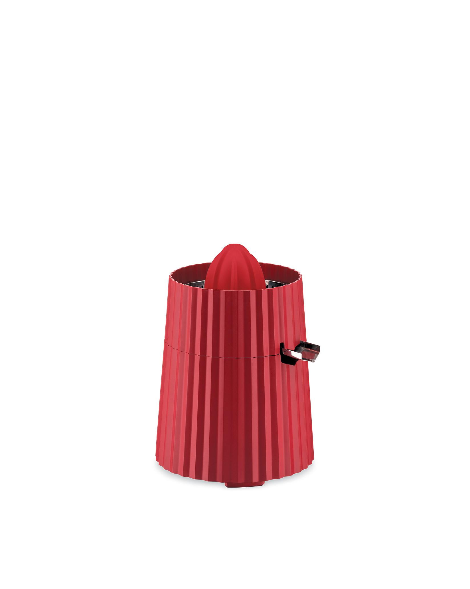 Elektrický odšťavňovač na citrusy Plisse, červený, prům. 18.5 cm - Alessi