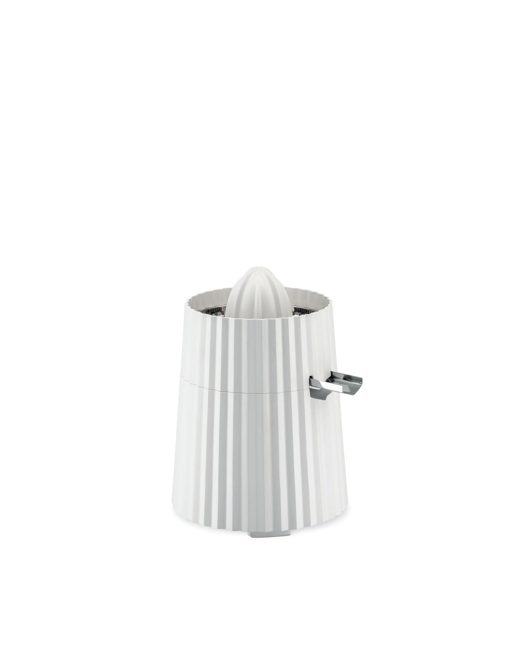 Elektrický odšťavňovač na citrusy Plisse, bílý, prům. 18.5 cm - Alessi