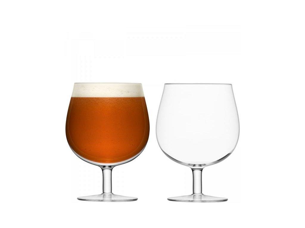 27350 bar craft sklenice na pivo 550ml cire set 2ks lsa handmade