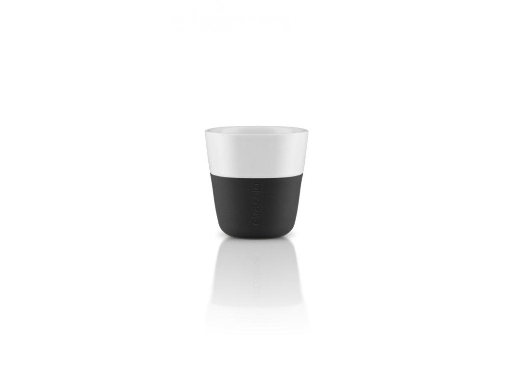 15756 hrnky na espresso 80ml set 2ks cerna eva solo