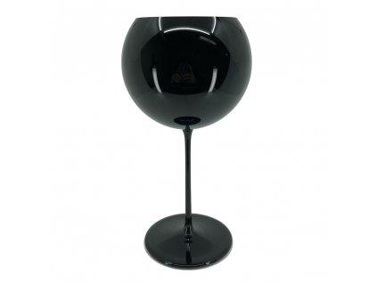 houdek sklenice černá