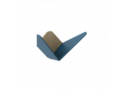 UMAGE packshot 5263 Butterflies mini oak petrol blue (2) high res