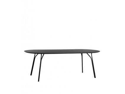 Tree dining table 200 black black