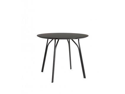 Tree dining table 90 black