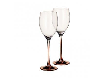 39716 sklenice na bile vino goblet set 2ks kolekce manufacture glass villeroy boch
