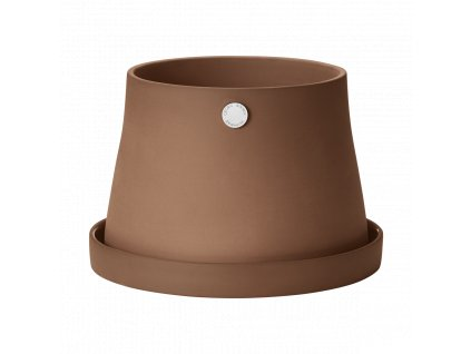 pack 10017656 TERRA pot incl saucer terracotta ø 212mm