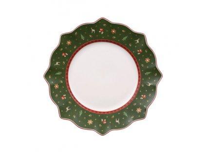 Jídelní talíř, zelený, průměr 29 cm, kolekce Toy's Delight Villeroy & Boch 1