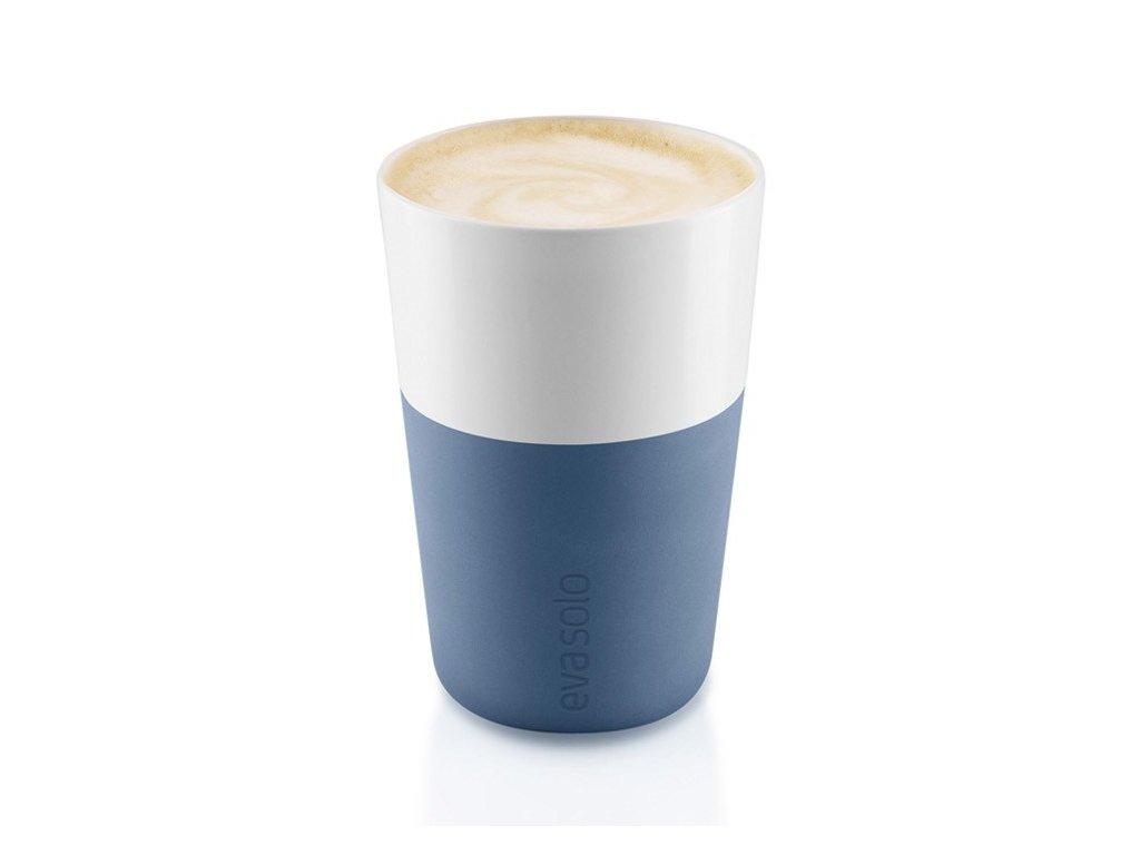 16551 hrnky na cafe latte 360ml set 2ks svetle modre eva solo