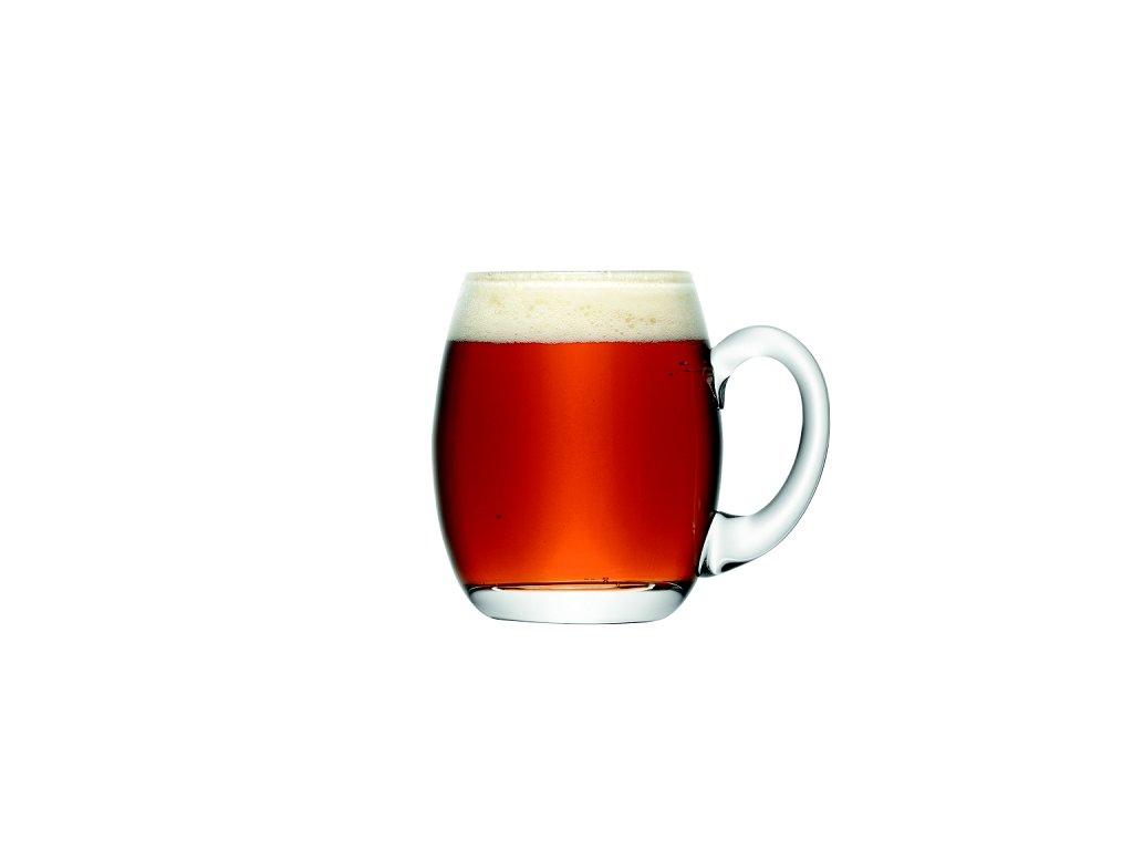14219 lsa bar pivni sklenice pullitr 500ml handmade