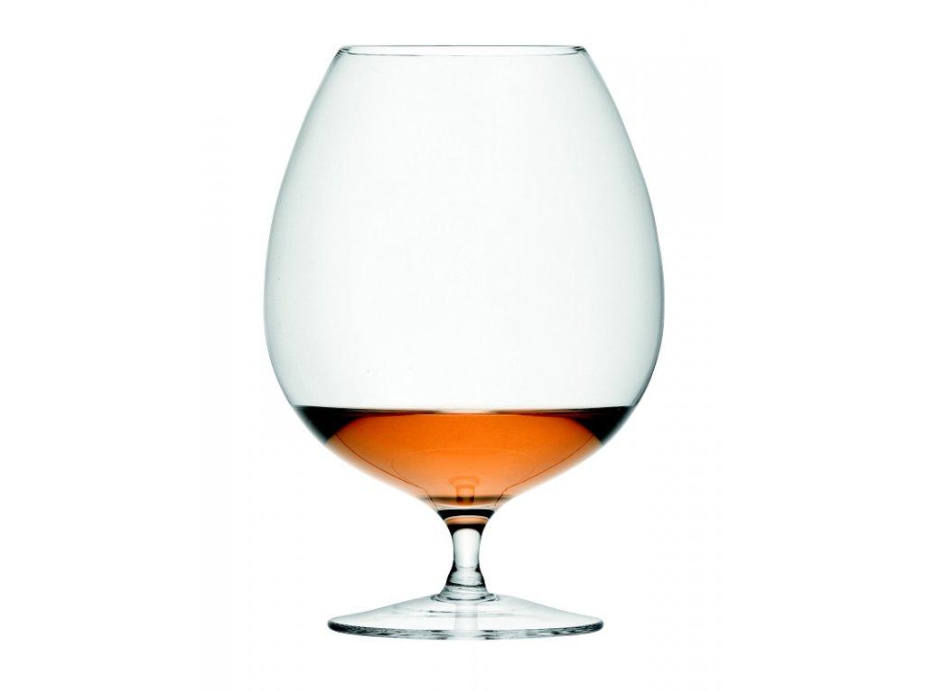 14294 lsa bar sklenice na brandy 900ml set 2ks handmade