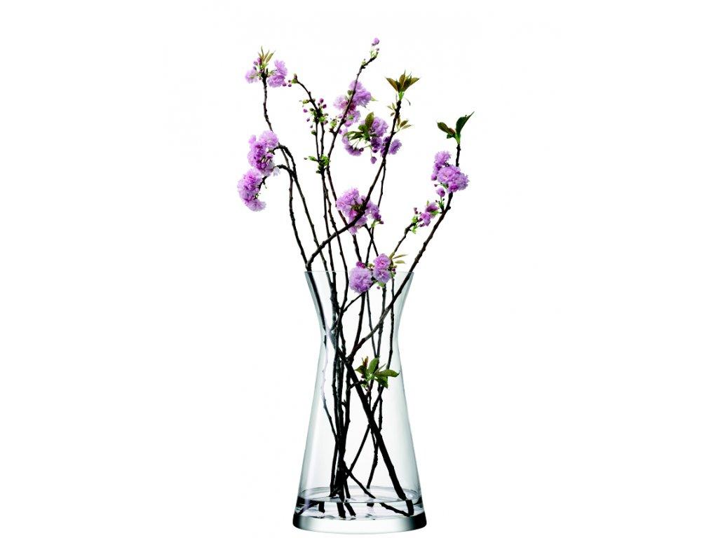 14447 lsa flower sklenena vaza vysoka na kvetinova aranzma 60 cm cira handmade