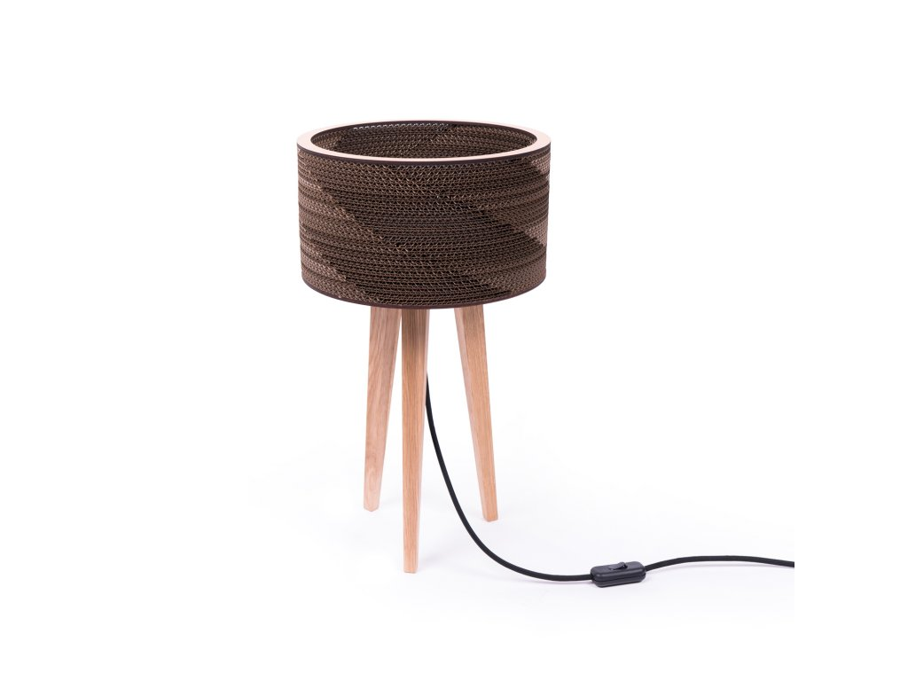 Cardboard tripod lamp Cardlamp mini 1500x1500px