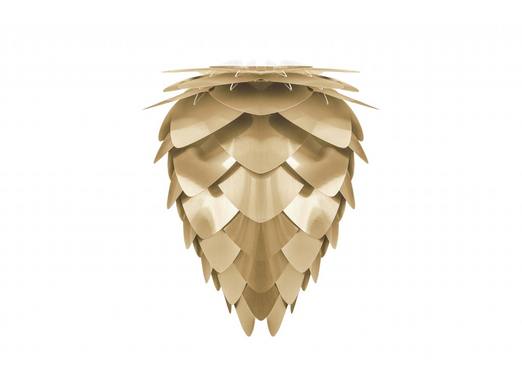 UMAGE packshot 2095 Conia medium brushed brass high res