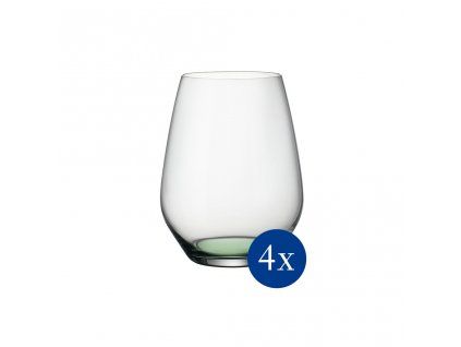 39683 sklenice na vodu drink set 4ks zelene jablko kolekce colourful life villeroy boch
