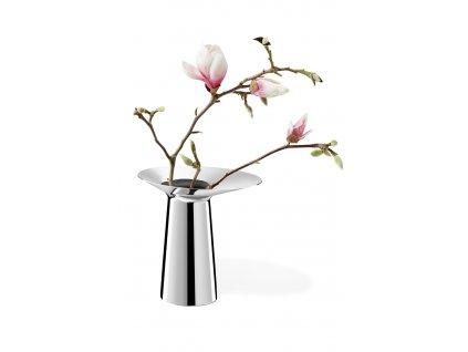 27052 2 nerezova vaza parego 19 5 cm zack