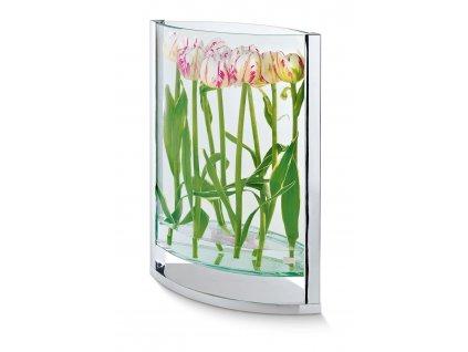 Sklenená váza Decade 2 veľkosti - Philippi (Rozmery 30 cm)