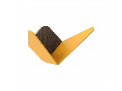 UMAGE packshot 5285 Butterflies medium dark oak saffron yellow (2) high res