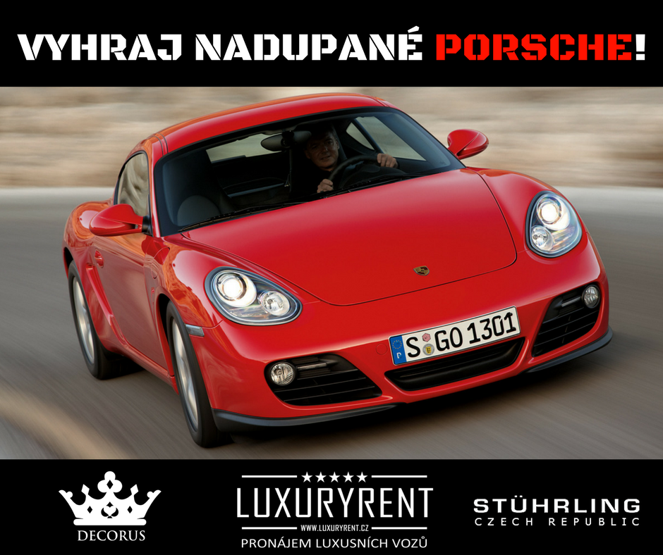 Vyhraj Porsche na celý den za fotku s náramkem!