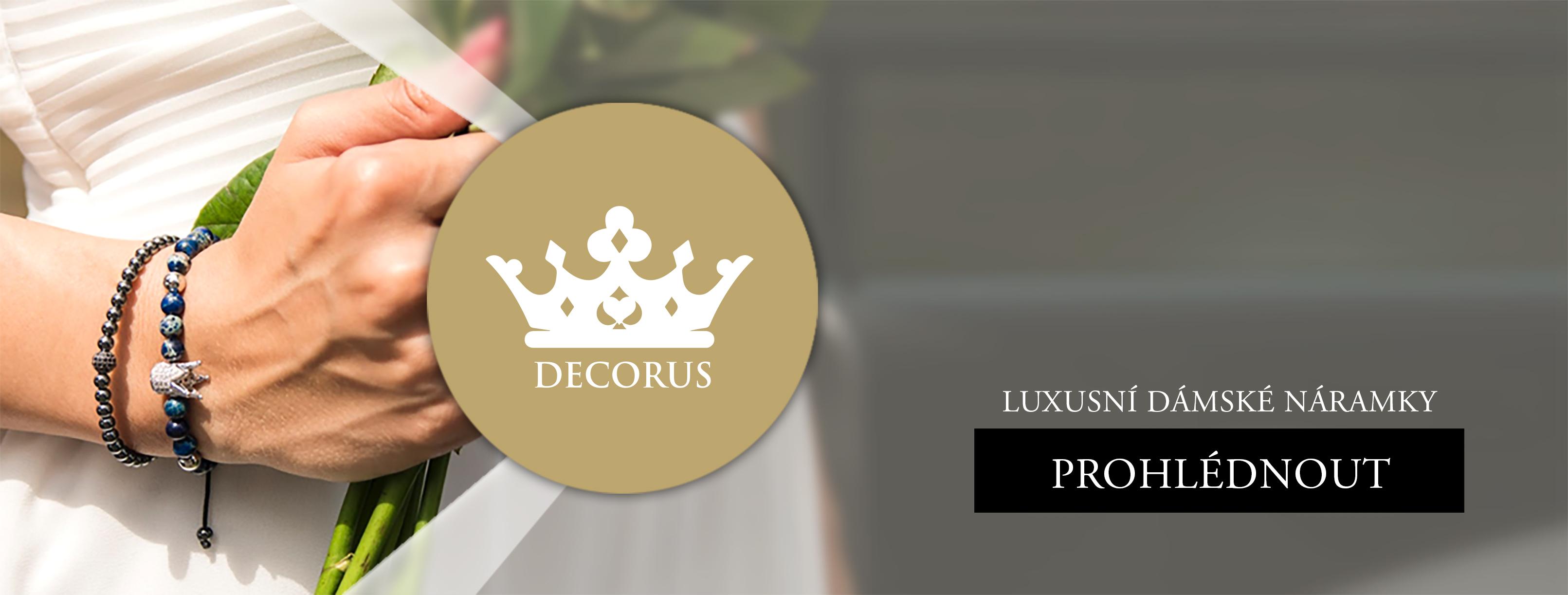 Decorus - Luxusní dámské náramky