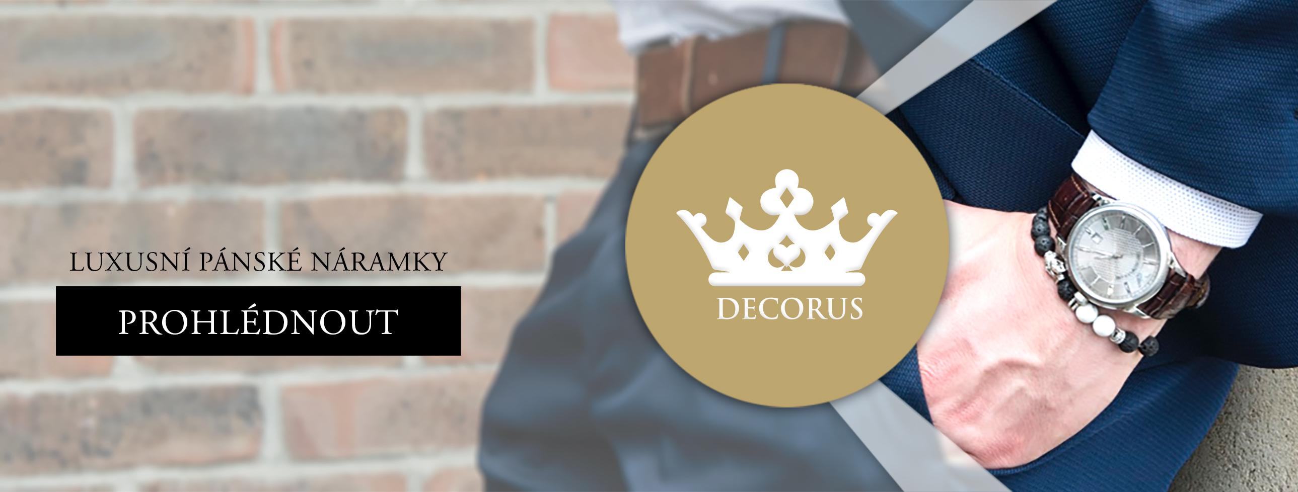Decorus - Pánské luxusní náramky