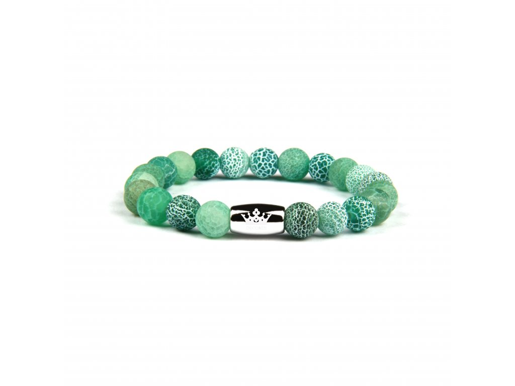 Onyxový náramek Dragon zelený