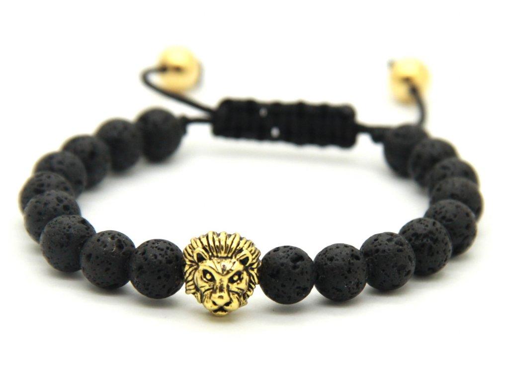 Shamballa zlatý lev