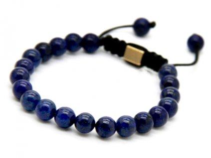 Shamballa náramek z kamenů lapis lazuli