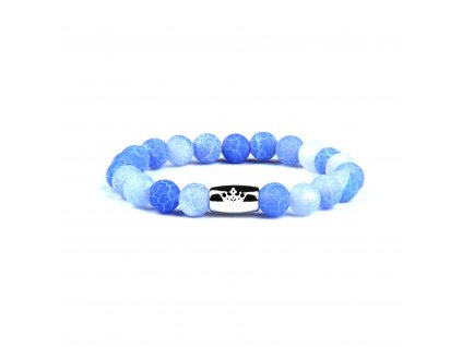 Onyxový náramek Dragon modrý