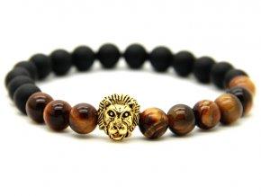 Zlatý náramek se lvem