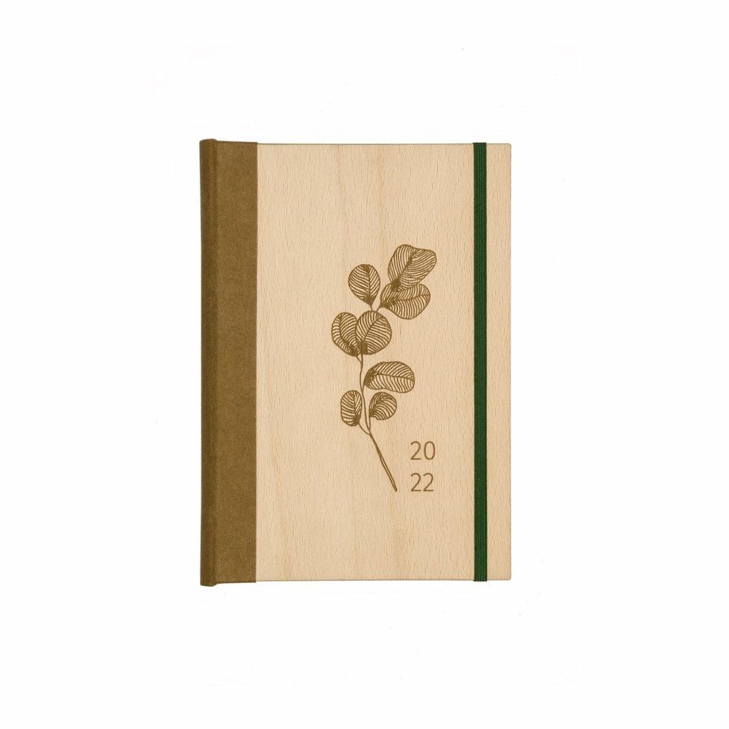 Dřevěný diář Original