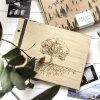 Dřevěné fotoalbum Strom