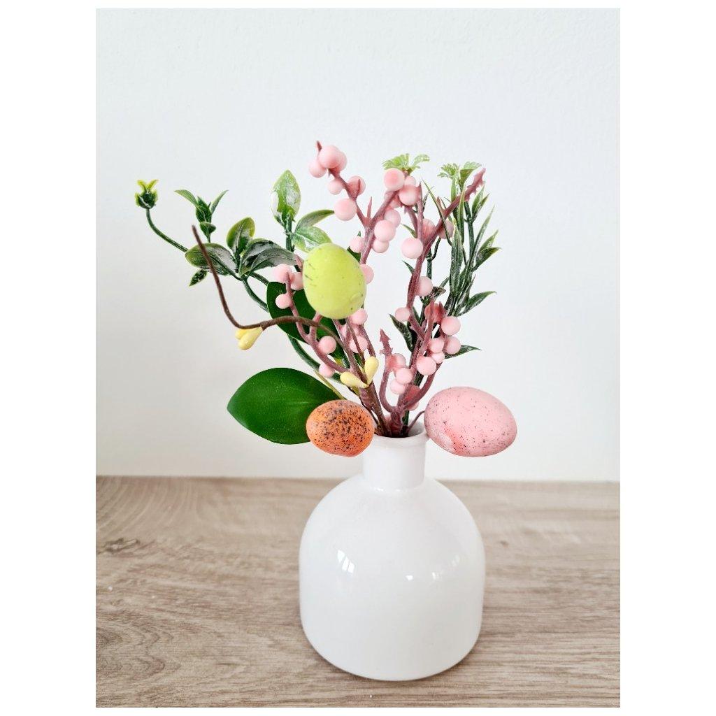 Velikonoční zápich, růžová barva.