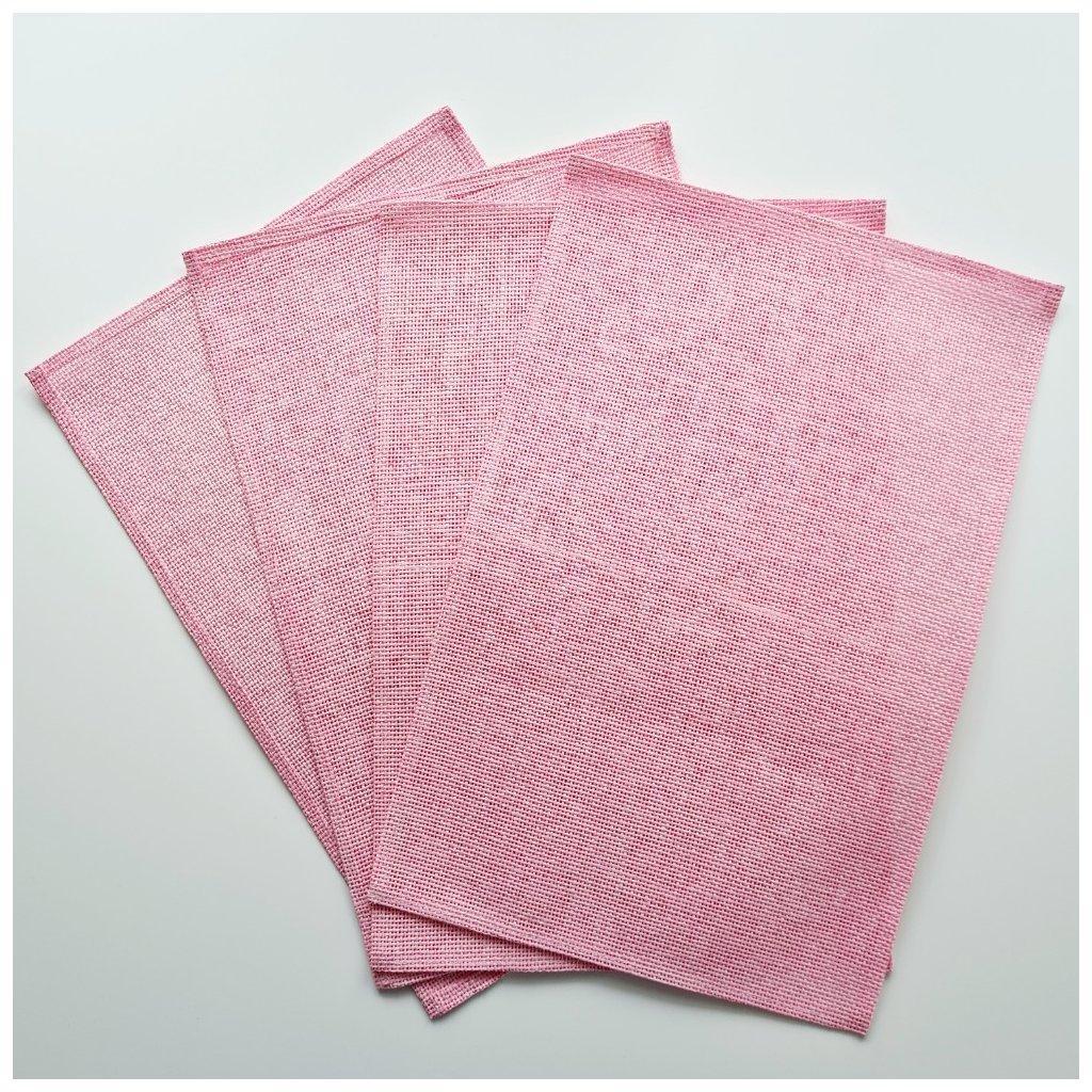 Velikonoční prostírání růžové 4 ks v balení