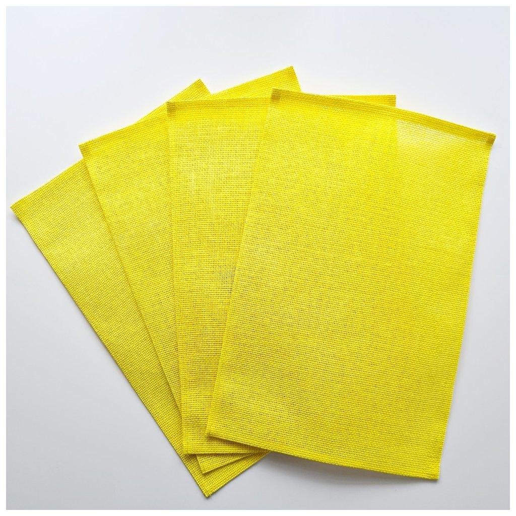 Velikonoční prostírání žluté 4 ks v balení