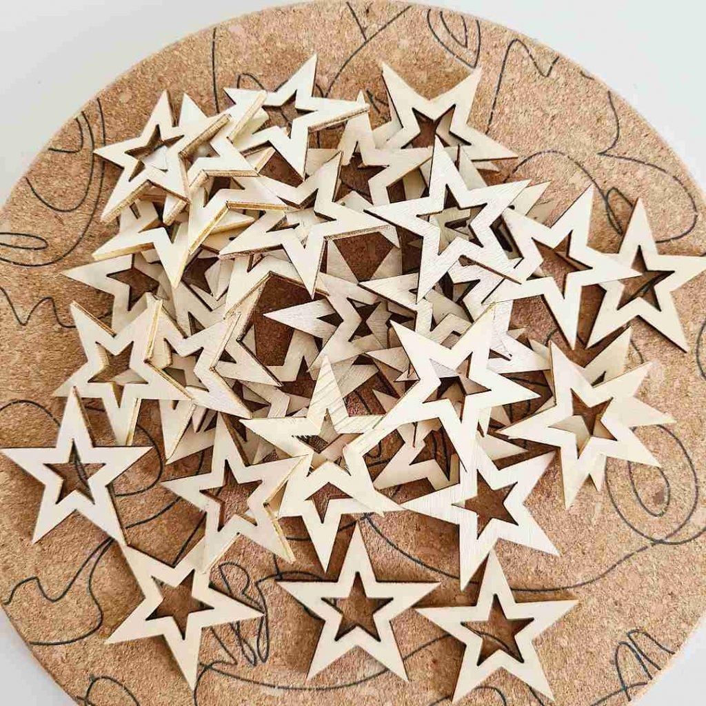 vykrajovane prizdoby hvezdy