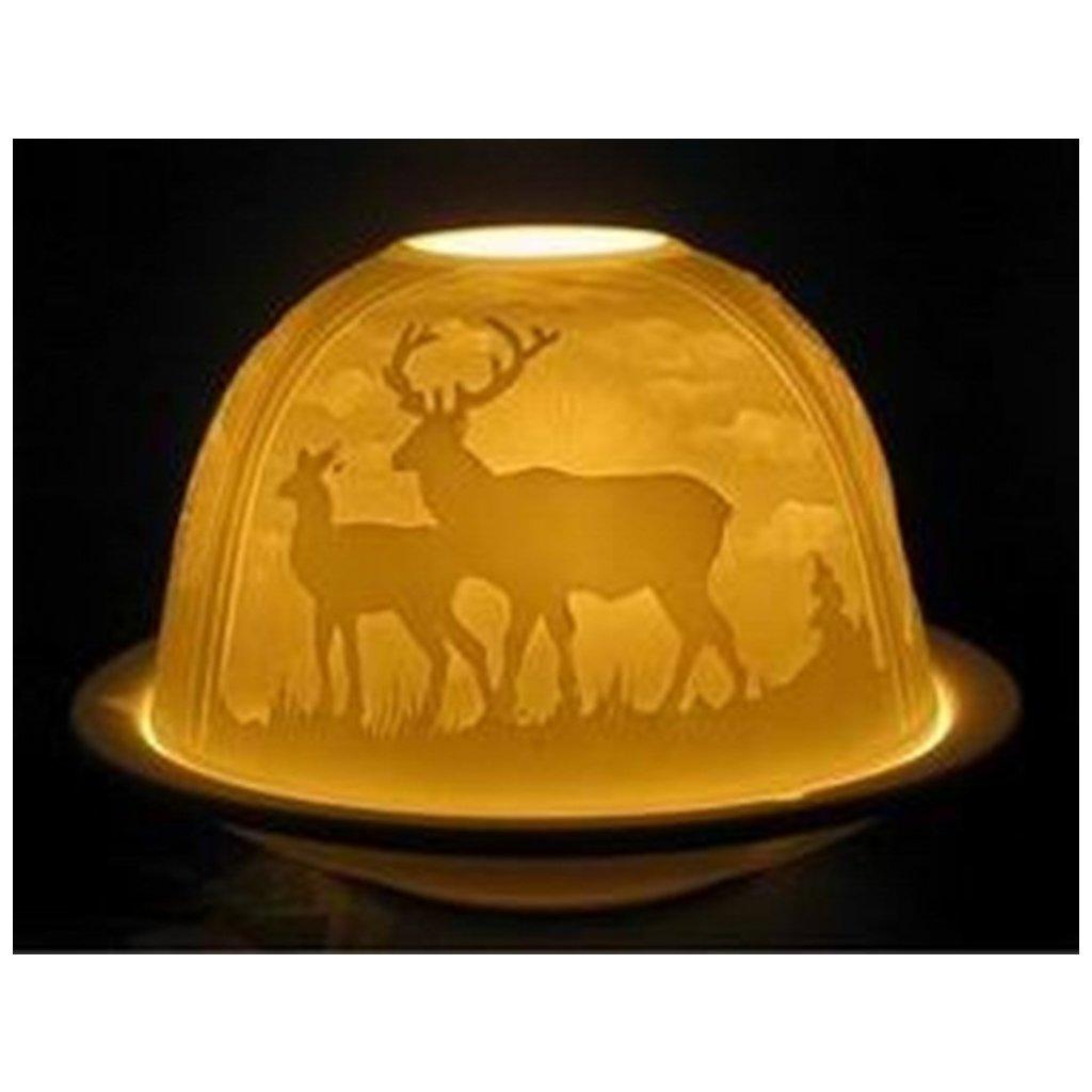 Svícen porcelán jelen