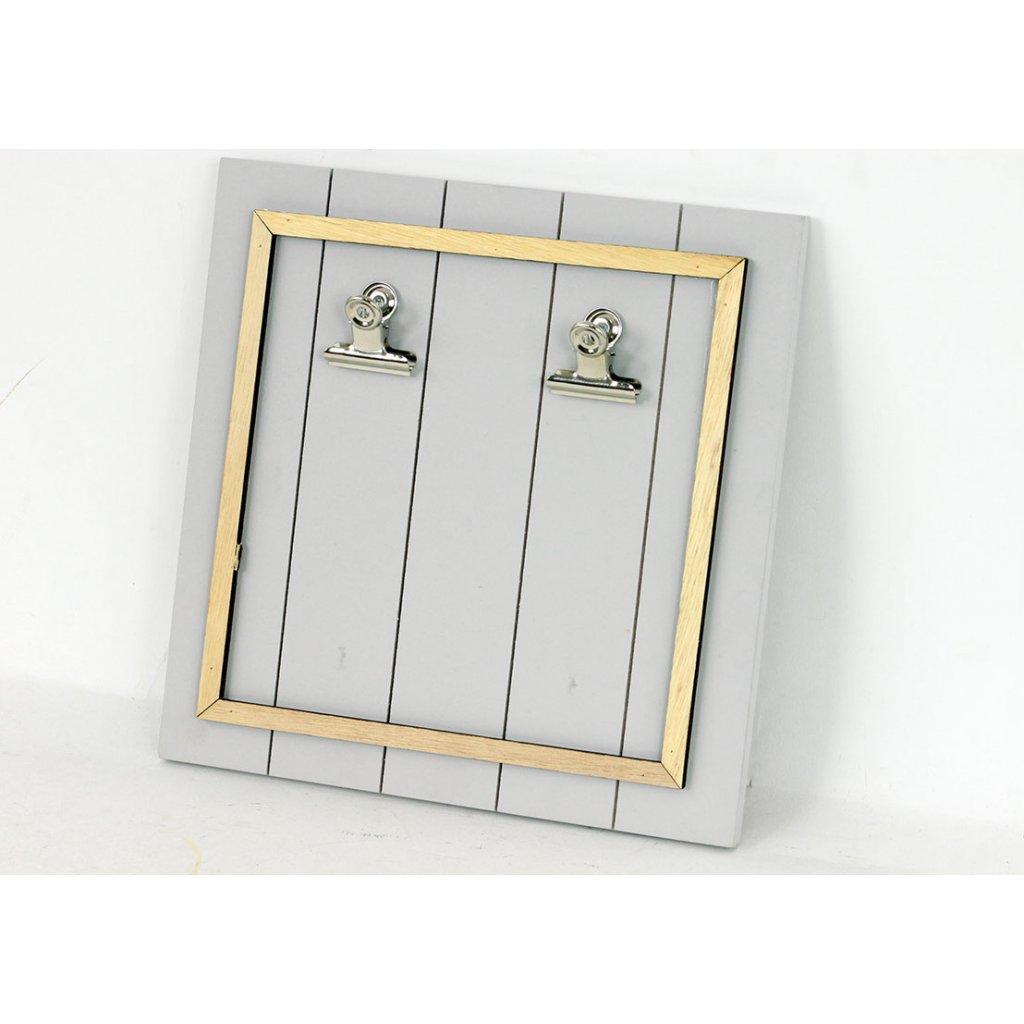 Tabulka na vzkazy dřevěná