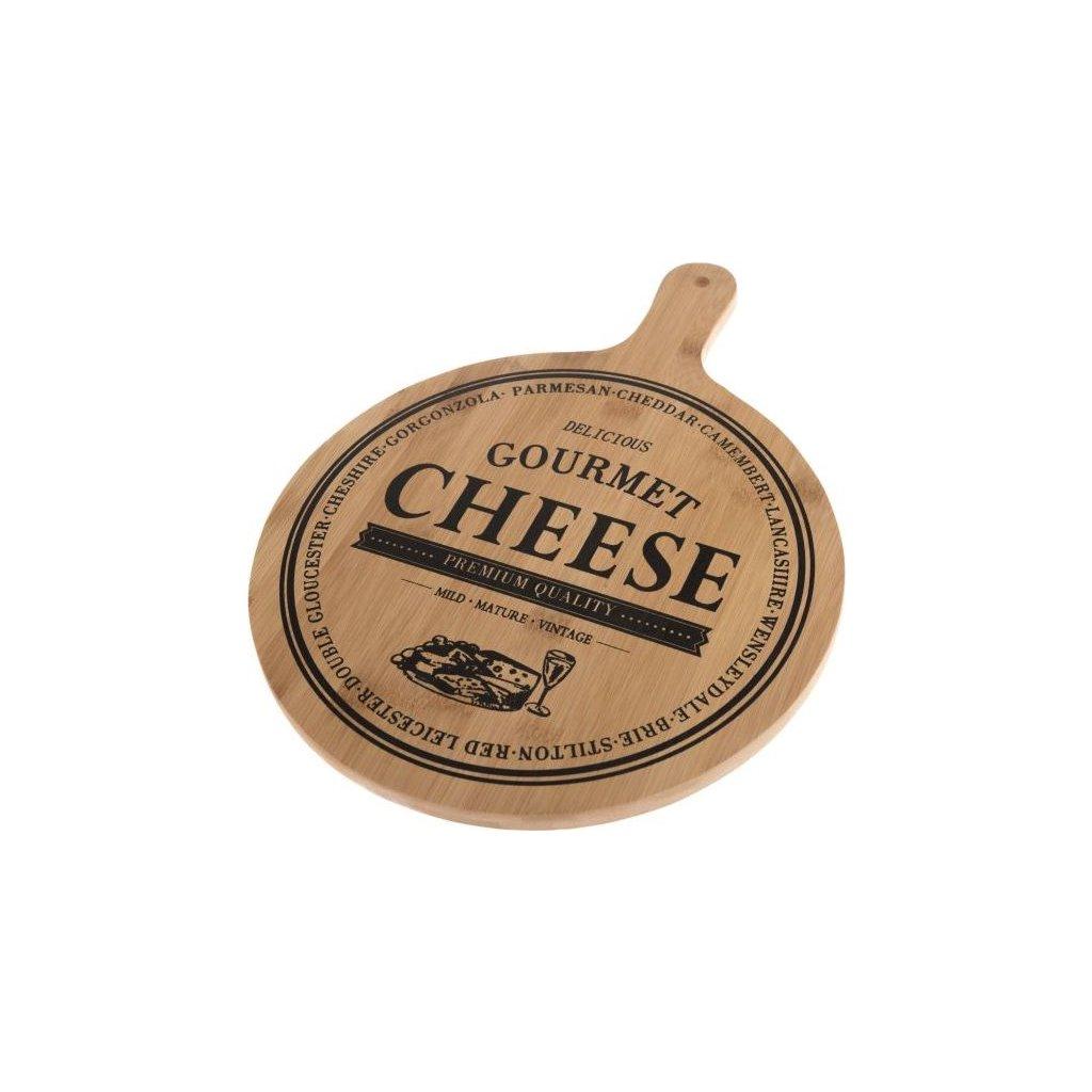 Bambusové prkénko Cheese long